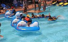 פעילות קיץ בבריכה